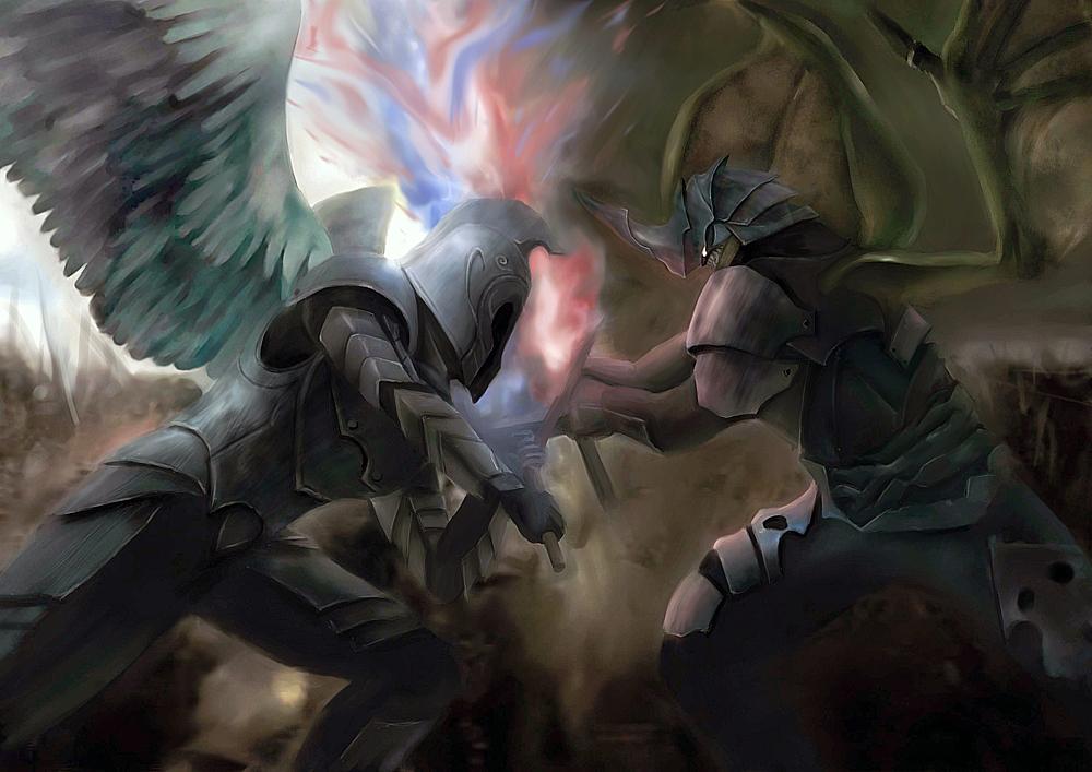 Les Anges et les Déchus