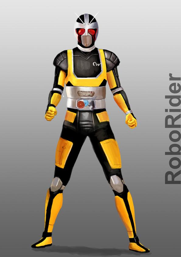 Kamen Rider RoboRider by doneplay