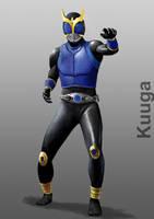 Kamen Rider Kuuga Dragon Form by doneplay