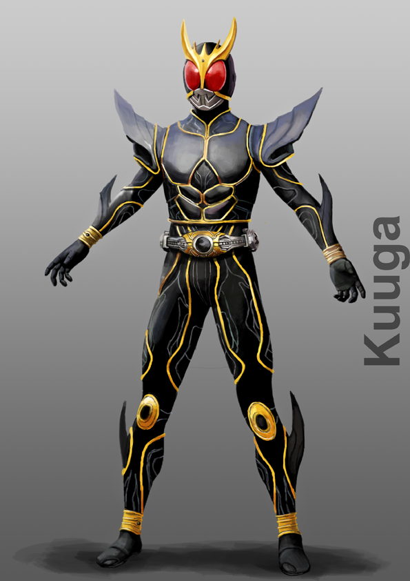 Kamen Rider Kuuga Ultimate Form by doneplay on DeviantArt