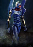 Evangelion Unit-00 by doneplay