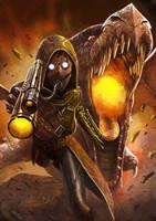 Steampunk Warrior by doneplay