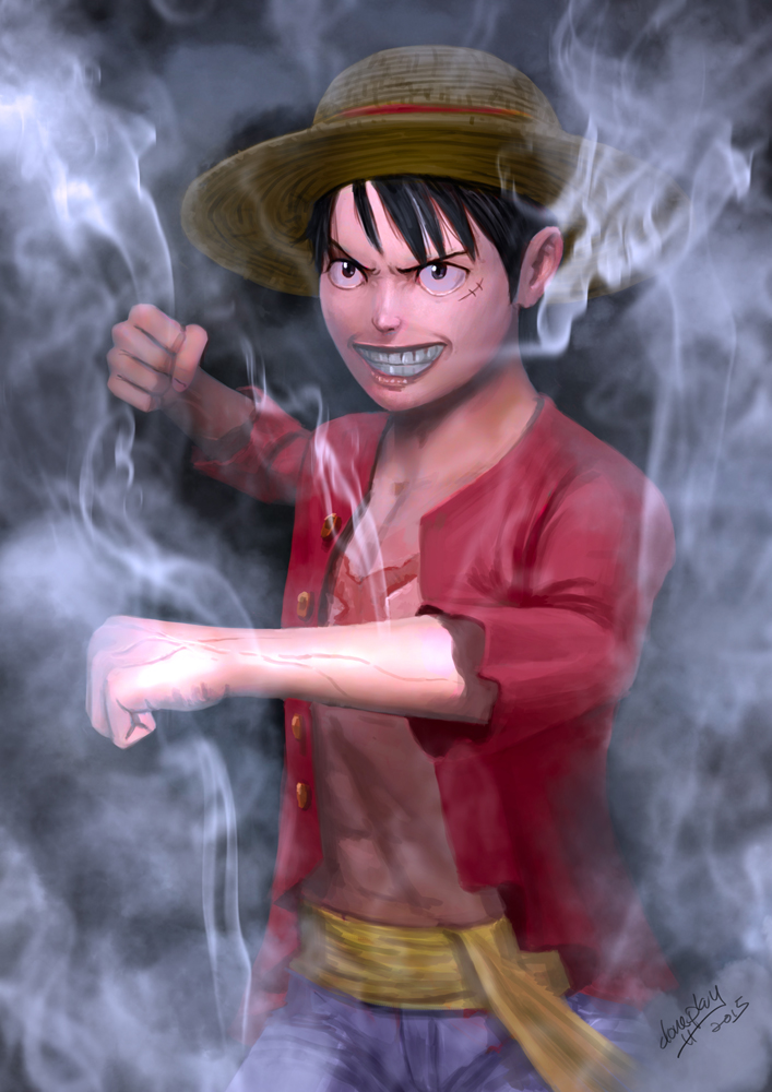 Monkey D. Luffy by doneplay