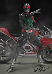 Kamen Rider 1 by doneplay