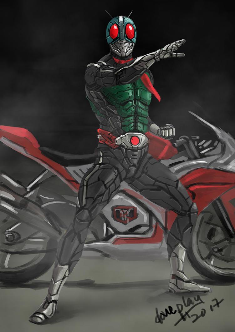 Kamen Rider 1 by doneplay