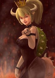 Bowsette by doneplay