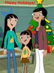 Hirano's family Christmas