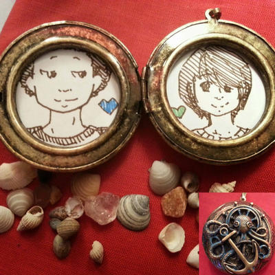Little locket by pathetictastic