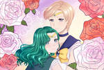Sailor Neptune and Sailor Uranus