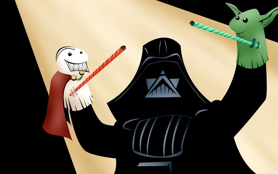 Vader Puppet Theatre by redspidey