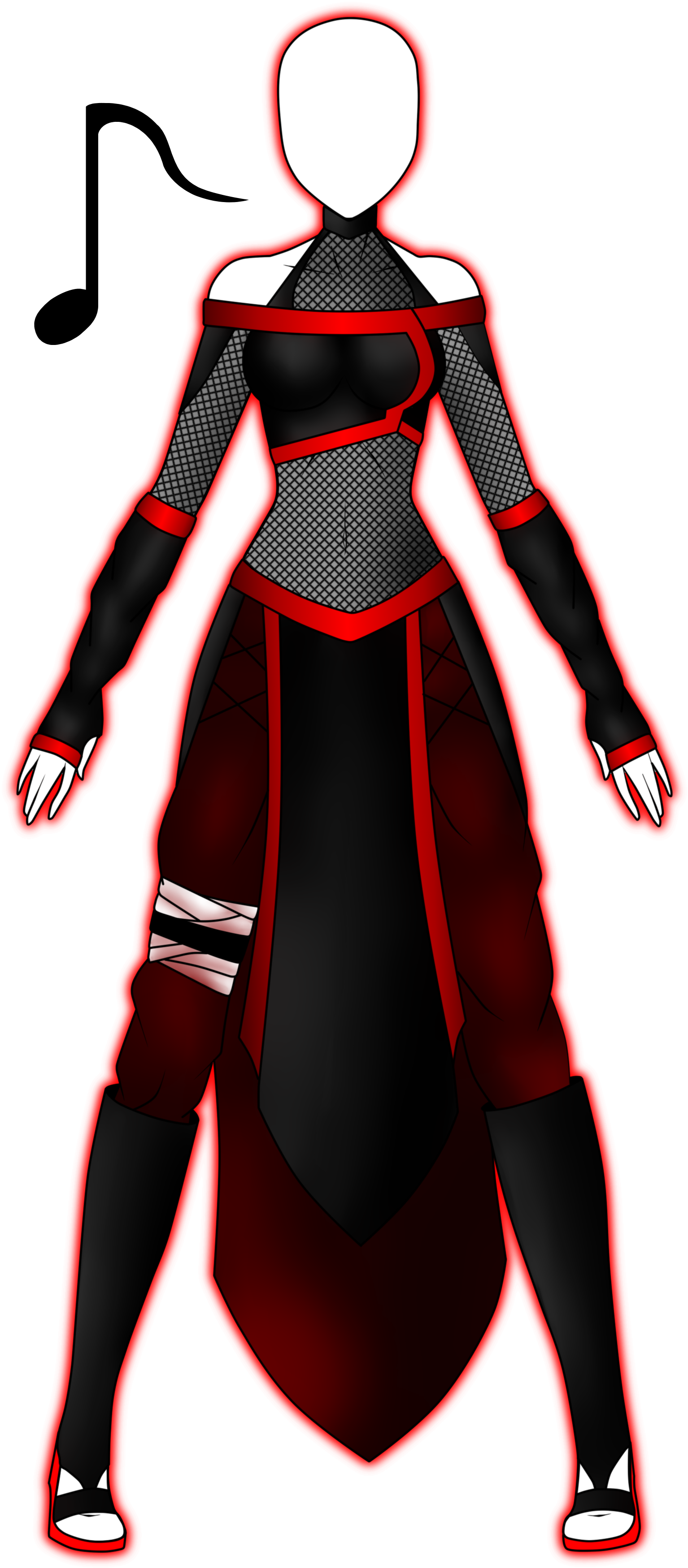 Vulkana's Naruto Outfit by 2050