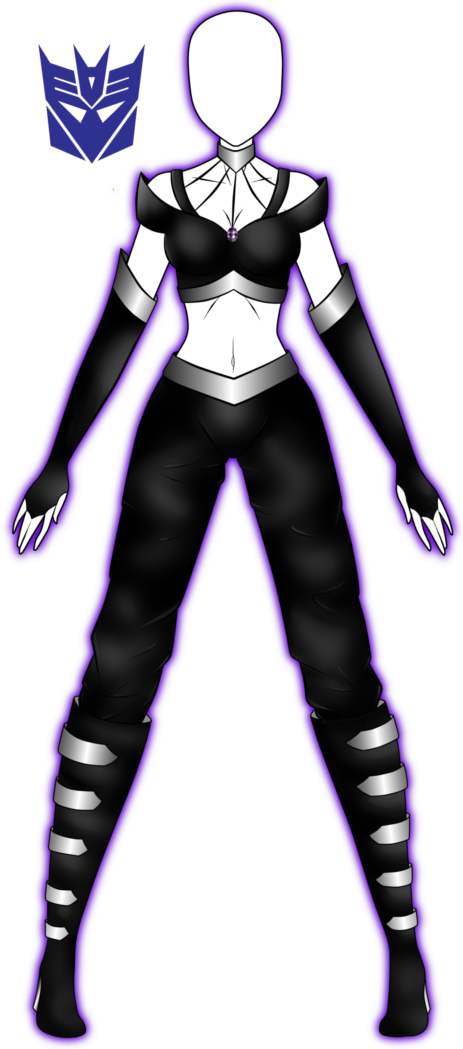 Old outfit revamp. by 2050 on DeviantArt