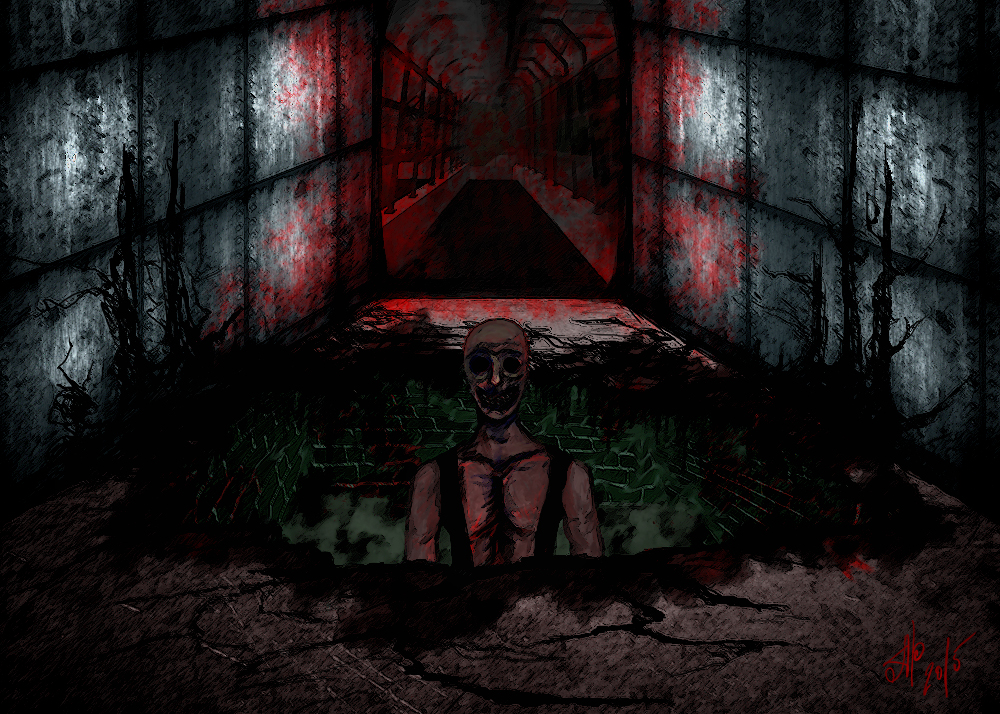 SCP 106 by Ogvi on DeviantArt