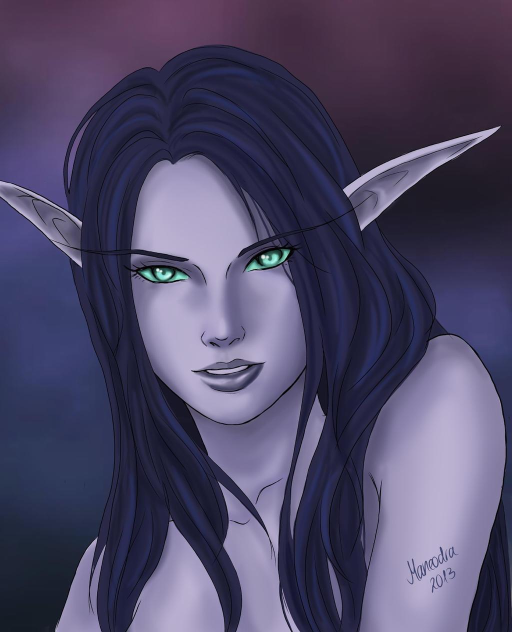Night elf rule 34