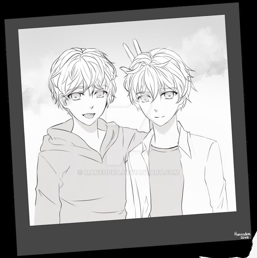 [MysMe] Choi Twins by Maneodra
