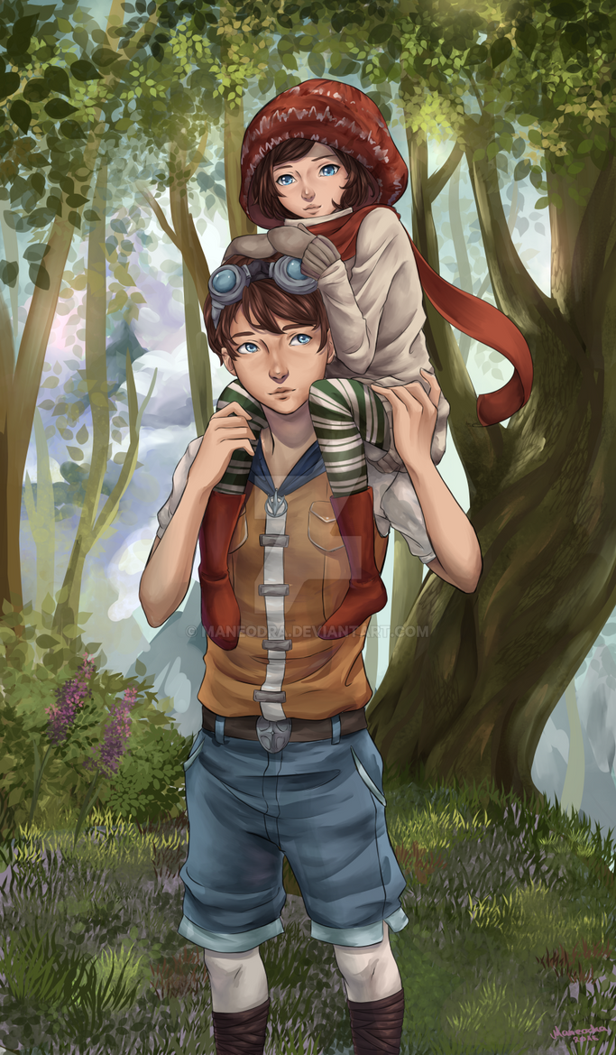 [TWW] Noah und Renie by Maneodra