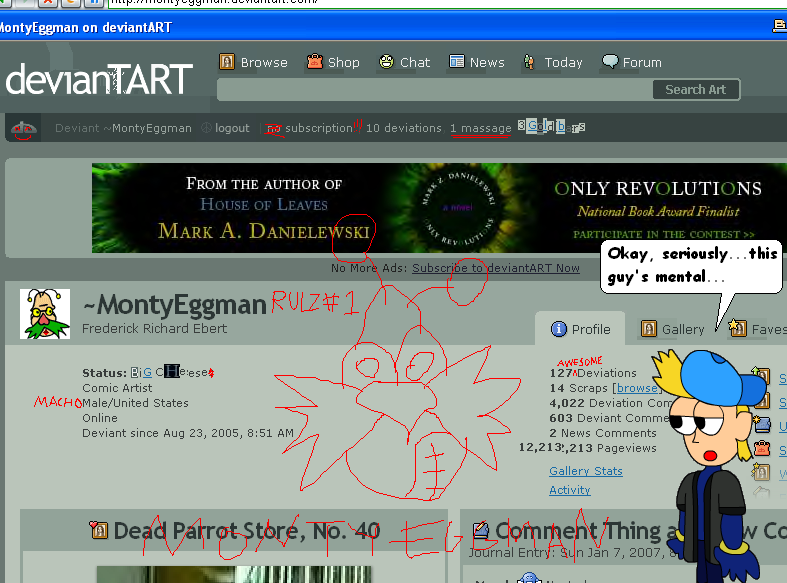 MontyEggman's Profile Picture