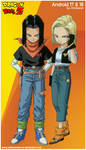 Android 17  18 (dragon ball z) by al'd.baran
