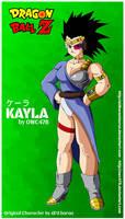 Kayla OCs (dragon ball oc) by owc478  aldbaran by AldbaranTaurus