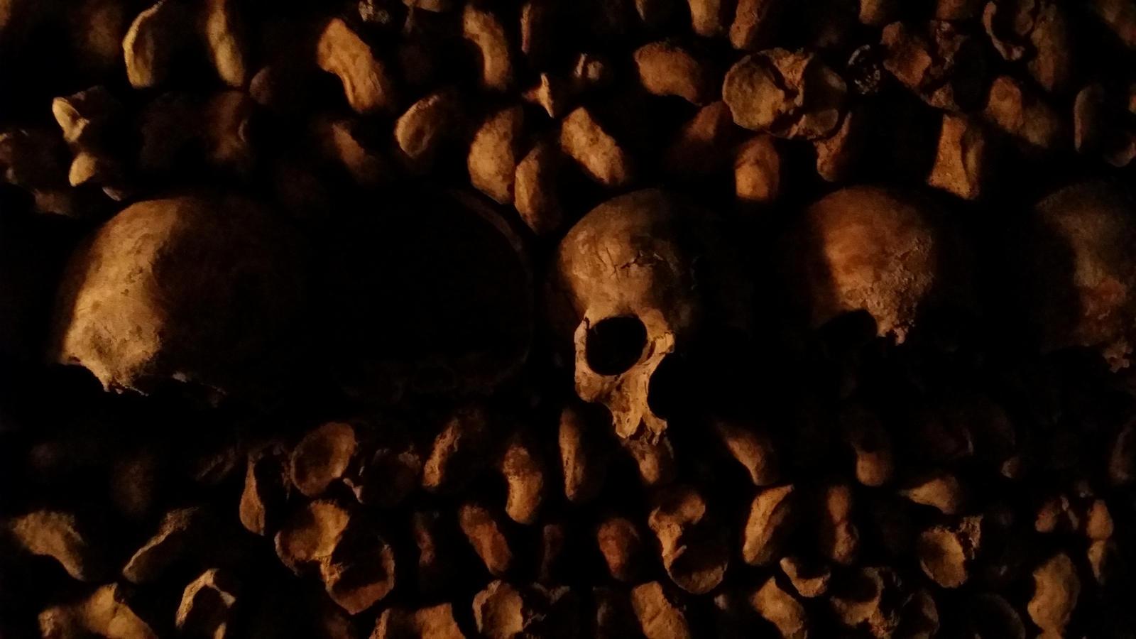 Paris catacombes 1 by alphazentaurus