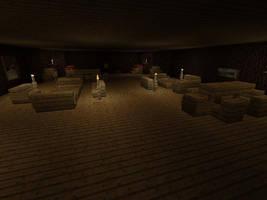 Aquila Crew's Quarters: Minecraft Replica by imajanaeshun