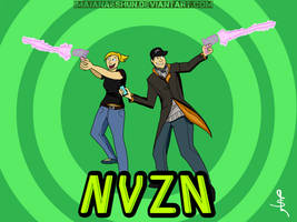 NVZN with Friends! (Watch_Dogs) by imajanaeshun