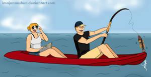 Jill and Brendan by imajanaeshun