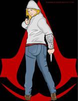 Modern Assassin (Cartoonified) by imajanaeshun
