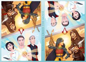 Assassin's Creed: The Movie Poster by imajanaeshun