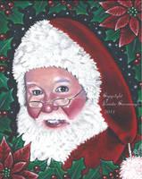 Santa by Queenofchaoss