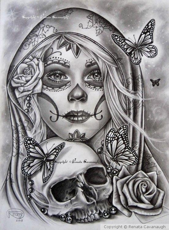 Dia de Los Muertos by Queenofchaoss