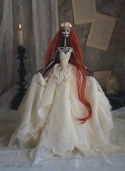 Luna Carmina II: The Dark Beauty art doll by LellecoShop