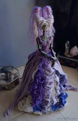Wisteria: The Dark Beauty art doll by LellecoShop