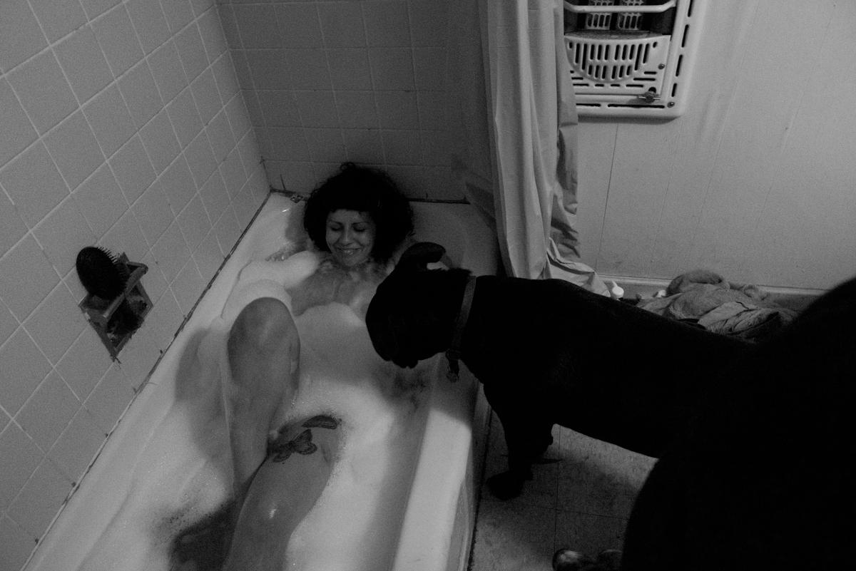 bubble bath b by LazloHollyfeld