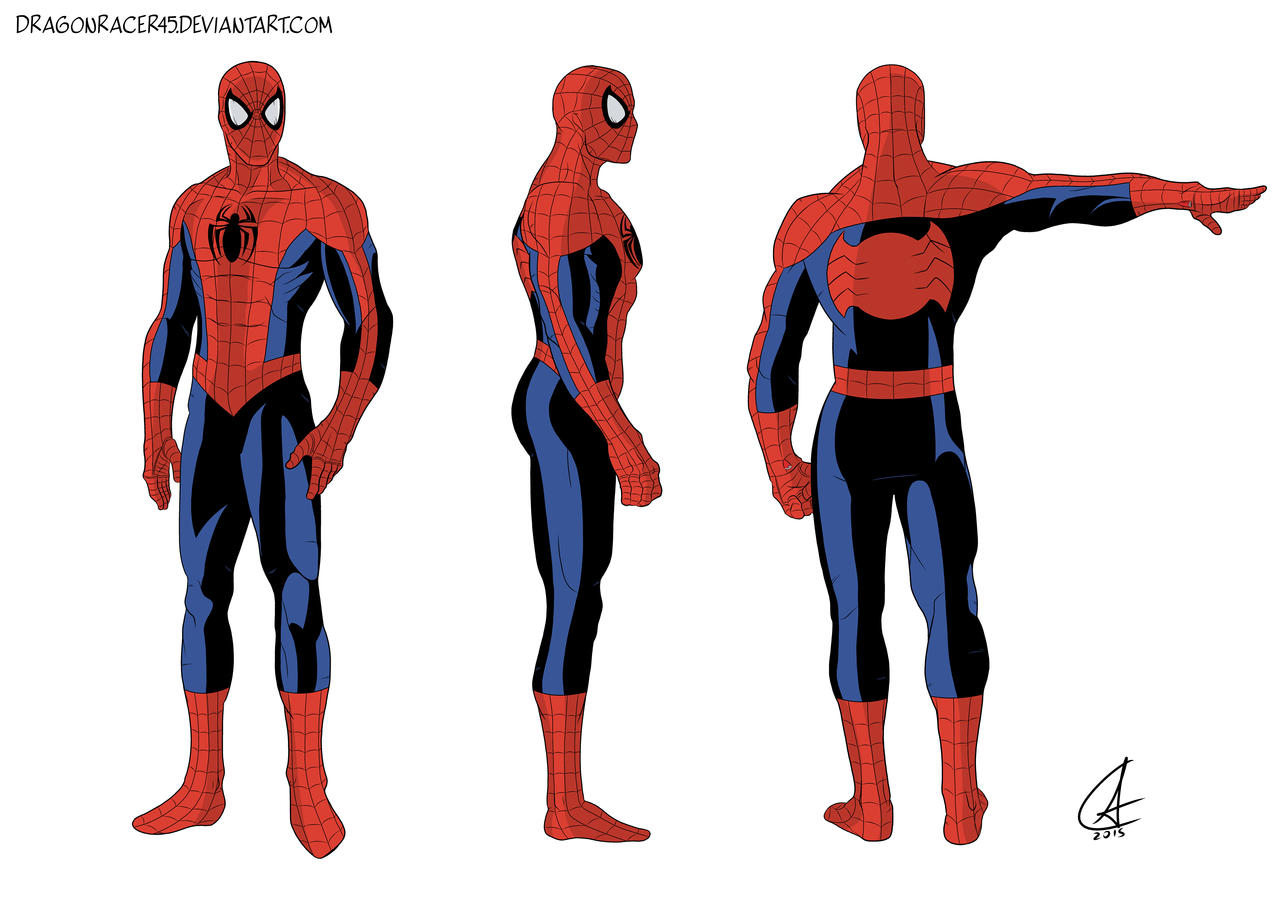 spiderman concept art 2 by dragonracer45 on deviantart