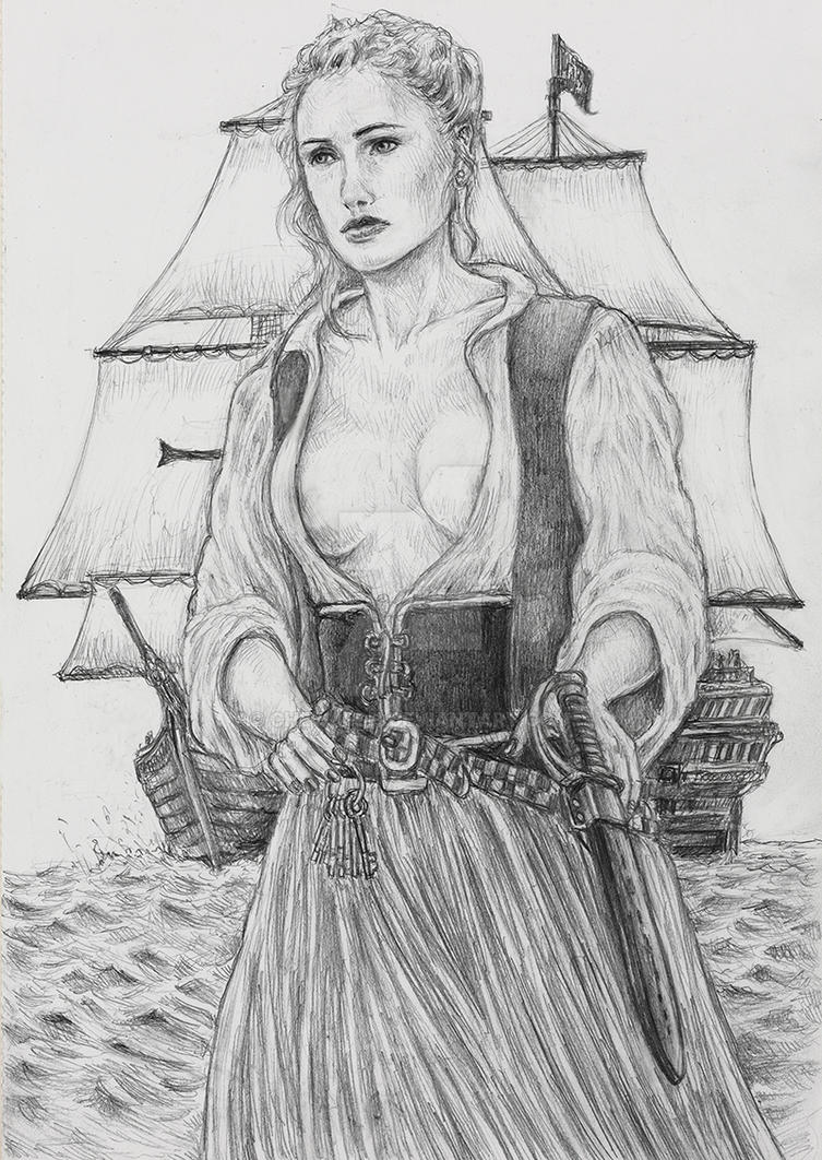 Eleanore Guthrieblack Sails Queen Of Thieves By Chewjfsh On Deviantart