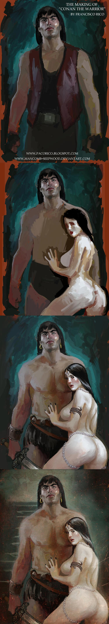 The making of Conan by Mancomb-Seepwood