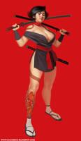 Sexy deadly ninja by Mancomb-Seepwood