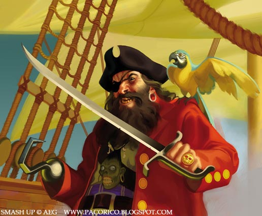 Pirate king by Mancomb-Seepwood