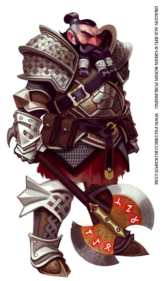 Dragon Age dwarf again by Mancomb-Seepwood