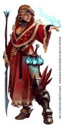 Dragon Age mage again by Mancomb-Seepwood
