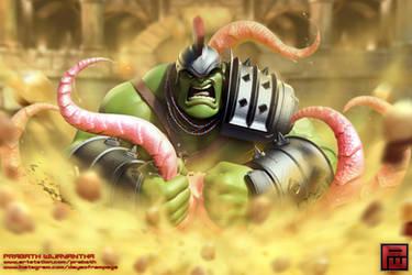 Planet Hulk- Fan Art
