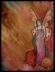 art nouveau fairy by melodicraven