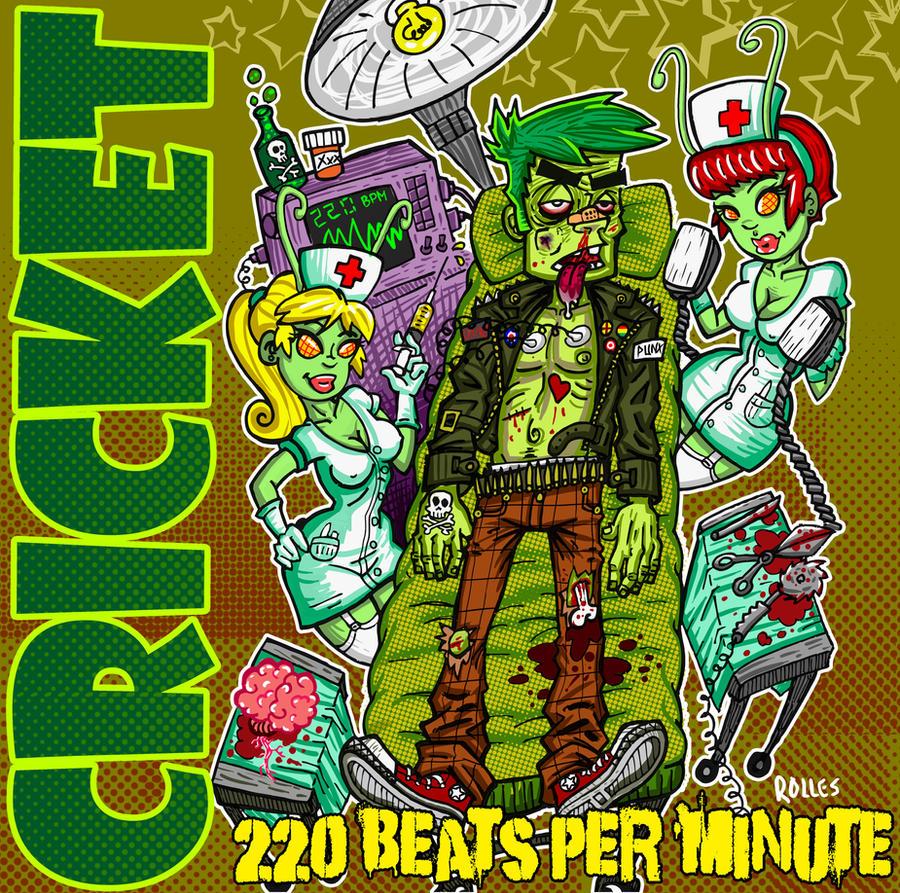 Cricket album cover 2 by sirhcsellor
