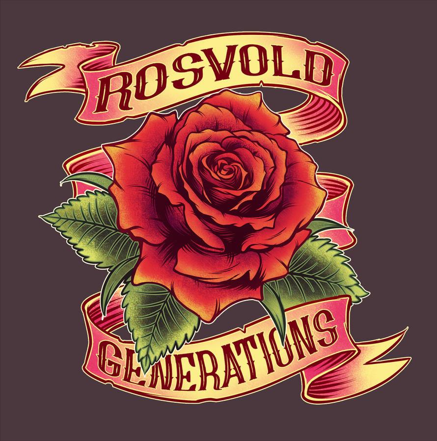Rosvold Generations shirt design by sirhcsellor
