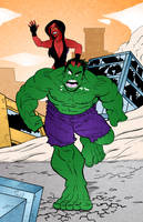 Hulk - color by Thebit07