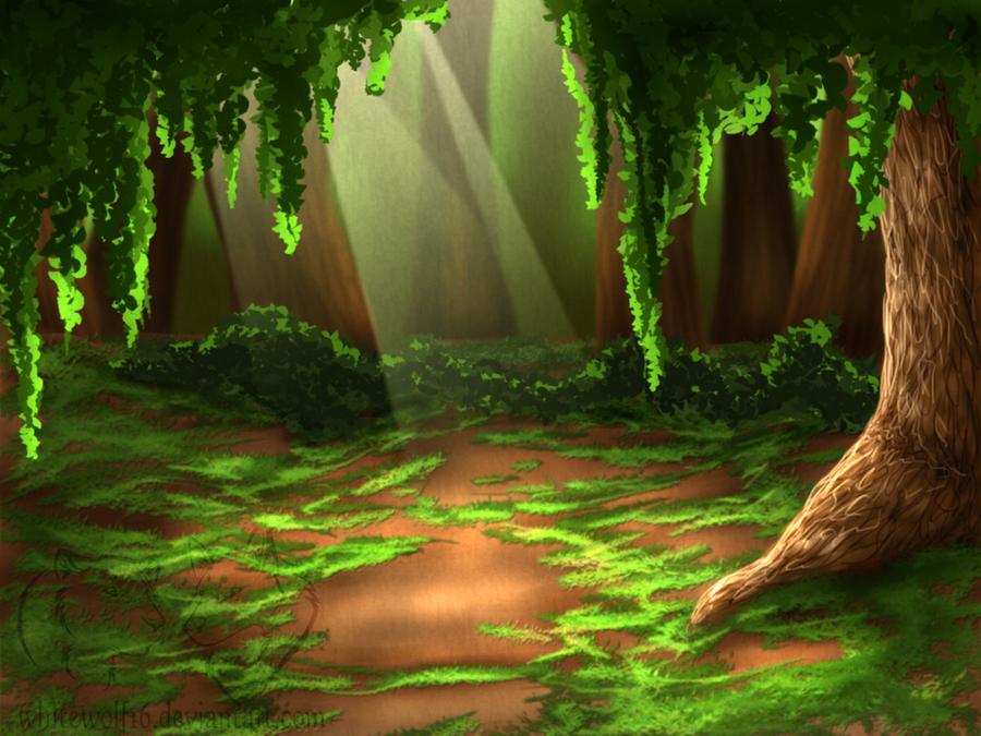 Forest background by UKthewhitewolf on DeviantArt