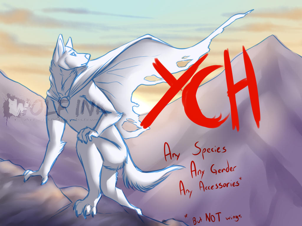 YCH Auction - Mountain Wanderer by UKthewhitewolf