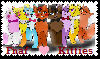 Fnaf kitties Stamp by Ask-The-Fnaf-kitties