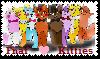 Fnaf kitties Stamp by Ask-The-Fnaf-kitties
